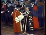 University of Wollongong - Installation of Chancellor Hope 1976 and Graduation 1979