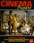 Cinema Papers #16 My 1978 Special Cannes edition