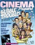 Cinema Papers #52 July 1985 by Nick Roddick and Debi Enker