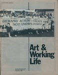Art & Working Life - Cultural Activities in the Australian trade union movement 1983 by Australian Council of Trade Unions and Community Arts Board of the Australia Councl