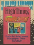 Revolution / High Times August 1971 by Phillip Frazer, Colin James, Macy McFarland, and Pat Woolley