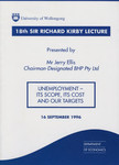 Unemployment - its scope, its cost and our targets by Jerry Ellis