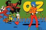 OZ no.15, cover by Martin Sharp