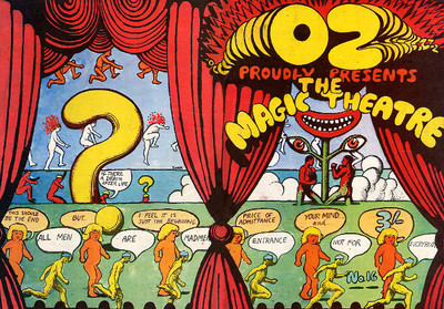 Oz no.16, cover