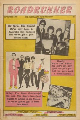 Roadrunner - Australian rock music magazine 1978-83