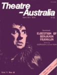 Theatre Australia: Australia's National Theatre Magazine 1(2) September-October 1976 by Robert Page, Bruce Knappett, and Lucy Wagner