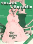 Theatre Australia: Australia's National Theatre Magazine 1(4) November-December 1976 by Robert Page, Bruce Knappett, and Lucy Wagner