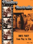 Theatre Australia: Australia's National Theatre Magazine 1(5) October-November 1976