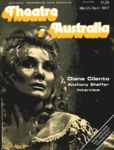 Theatre Australia: National Performing Arts Magazine 1(8) March-April 1977 by Robert Page, Lucy Wagner, and Bruce Knappett