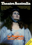 Theatre Australia: Australia's magazine of the performing arts 3(2) September 1978 by Robert Page and Lucy Wagner