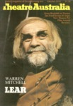 Theatre Australia: Australia's magazine of the performing arts 3(3) October 1978 by Robert Page and Lucy Wagner