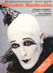 Theatre Australia: Australia's magazine of the performing arts 5(4) November 1980 by Ardyne Reid and Lucy Wagner