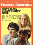 Theatre Australia: Australia's magazine of the performing arts 5(9) May 1981 by Robert Page and Lucy Wagner