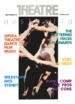 Theatre Australia: Australia's magazine of the performing arts 6(1) September 1981 by Robert Page and Lucy Wagner