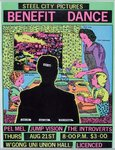 Nice Poster (Steel City Pictures Benefit Dance) by Michael Callaghan and Mary Callaghan