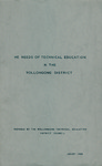 The Needs of Technical Education in the Wollongong by F. M. Mathews