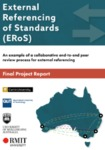 External Referencing of Standards (ERoS) -  An example of a collaborative end-to-end peer review process for external referencing