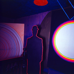 Yellow House - Marcel Duchamp in neon room by Greg Weight