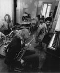 Alex Sutinen, Nicholas Lyon and Billy Preston jamming